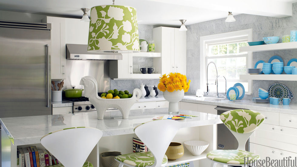 Bright Kitchens happy kitchen ideas - bright kitchens