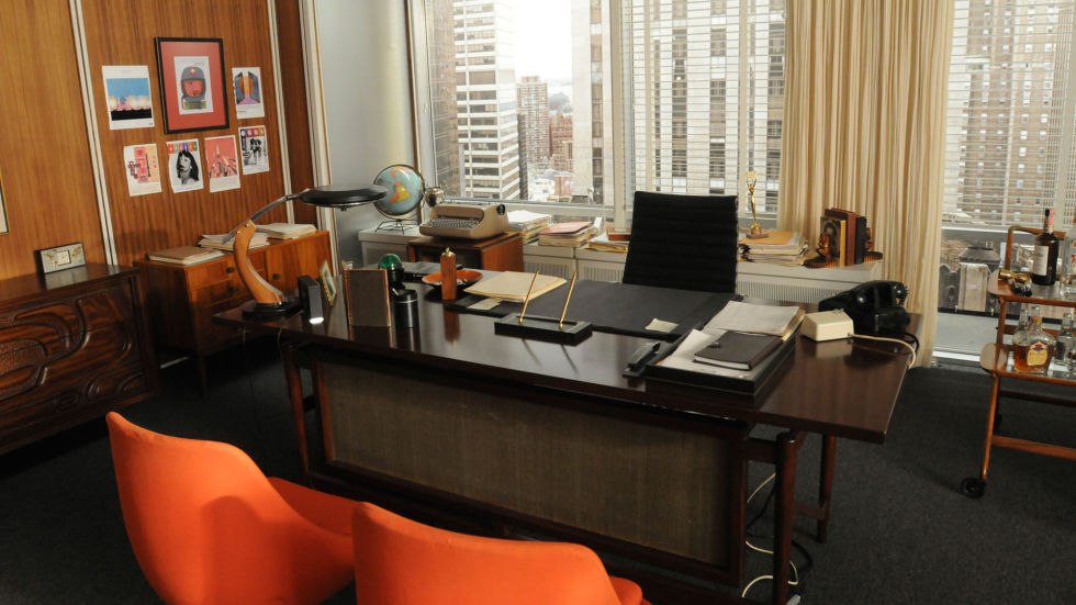 Lovely Mad Men Style Furniture #11: Donu0027s Office