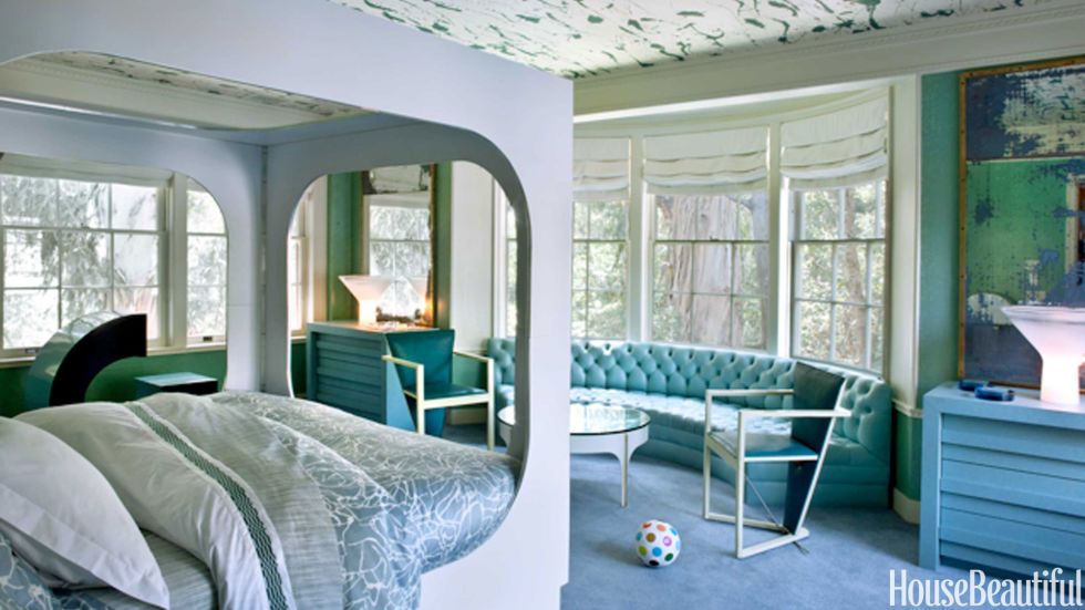 kelly wearstler kids room - Decorating A Boys Room Ideas