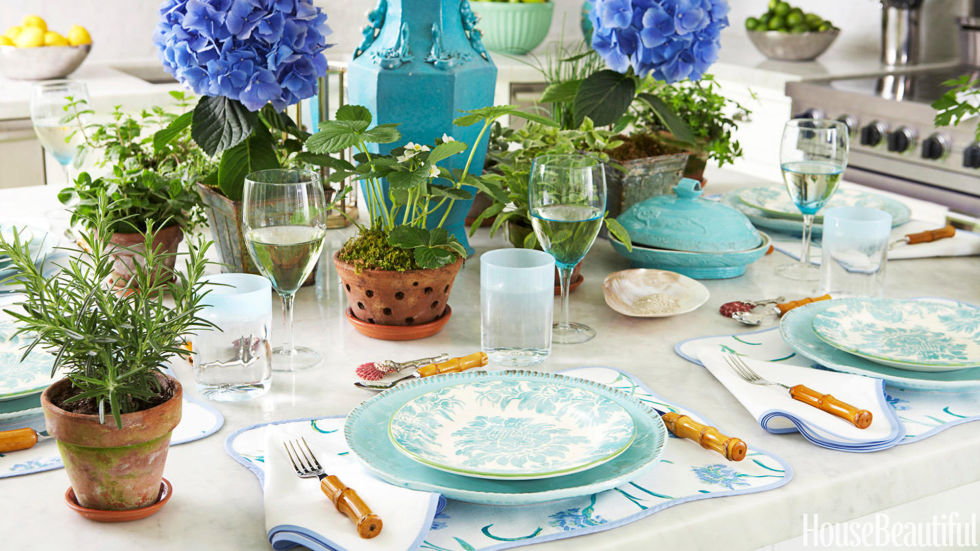 Tablescape Ideas spring table setting ideas - spring tablescapes