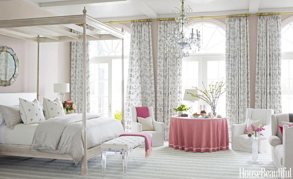 60 best spring decorating ideas spring home decor inspiration - Pictures Of Bedroom Decorations