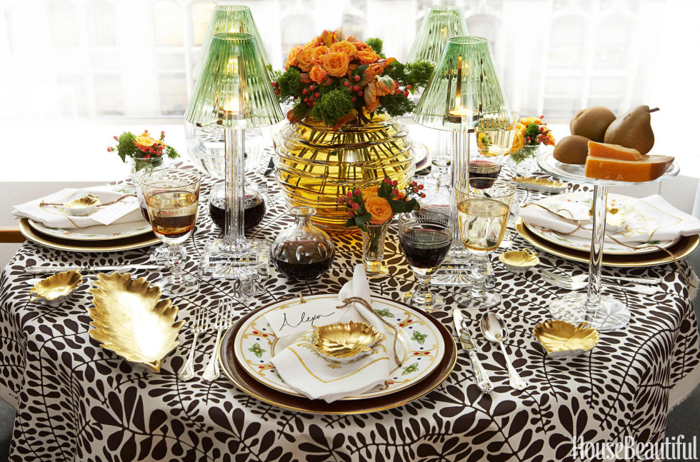 Decorating For Thanksgiving 14 thanksgiving table decorations - table setting ideas for