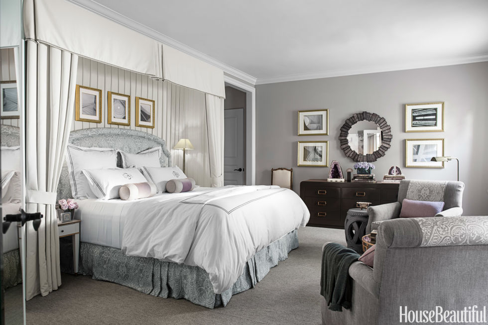 traditional neutral bedroom - Colors For Walls In Bedrooms