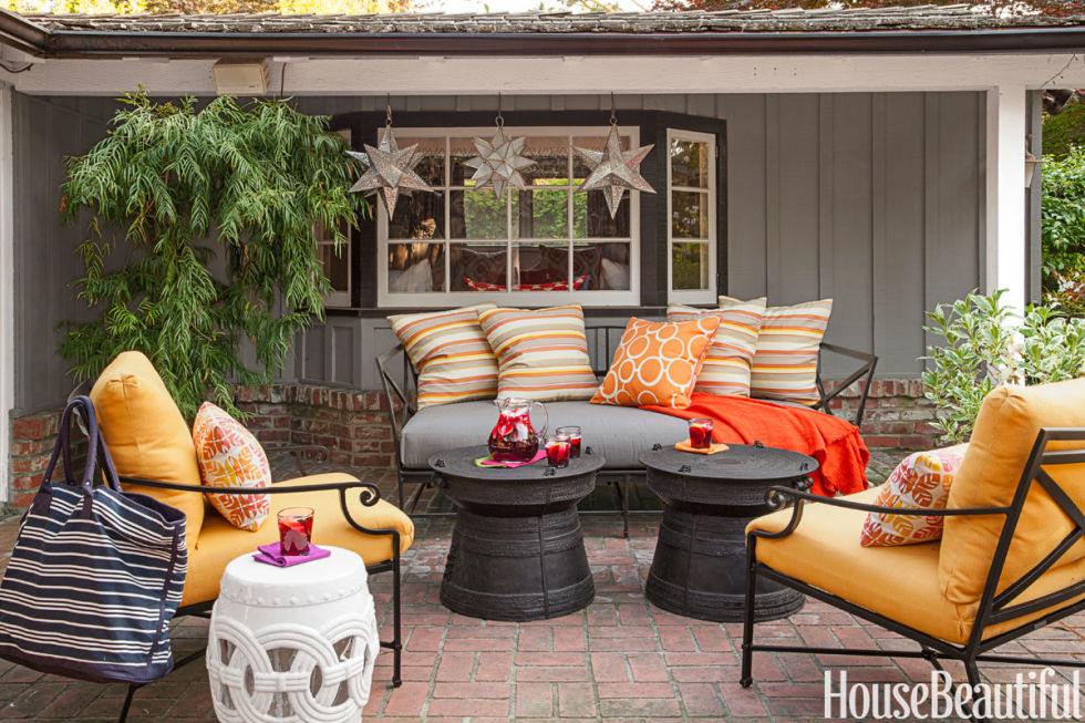 Outside Rooms Ideas 20 fall outdoor decorating ideas - best autumn decor for outdoor rooms