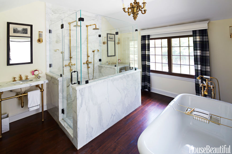 House Beautiful Bathroom gilded age bathroom - bryan joyce bathroom design