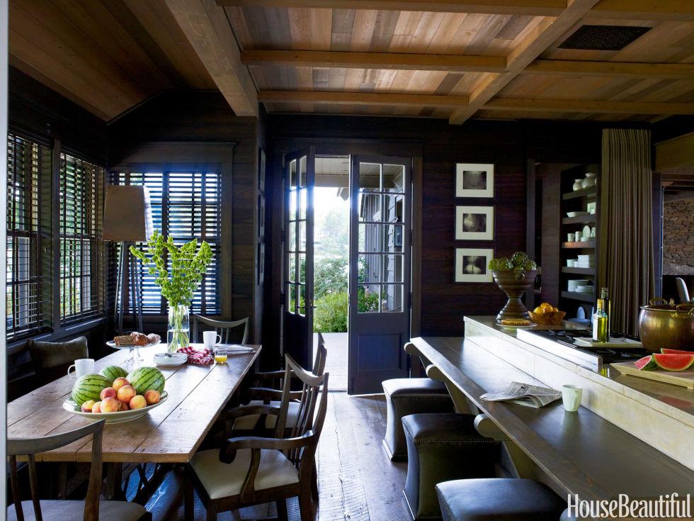 Susan Ferrier susan ferrier lake house - dark lake house design