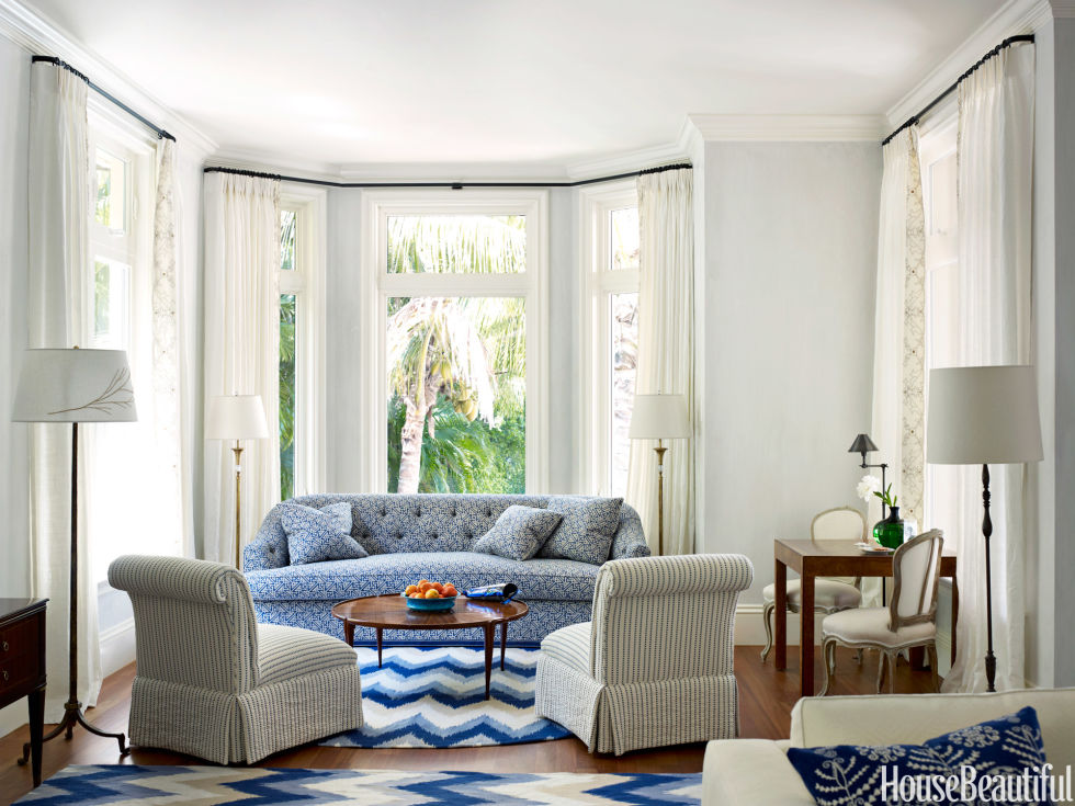 Blue and white florida house blue and white pattern house - Fortuny real estate ...