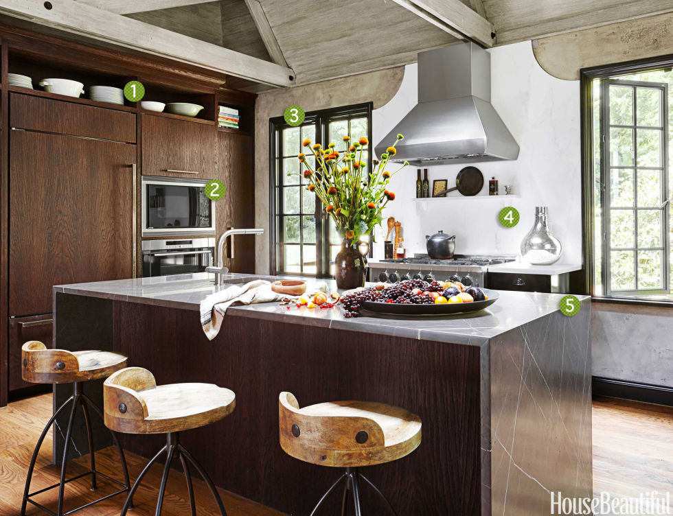 a stylish space where a family can gather - Rustic Modern Kitchen 2