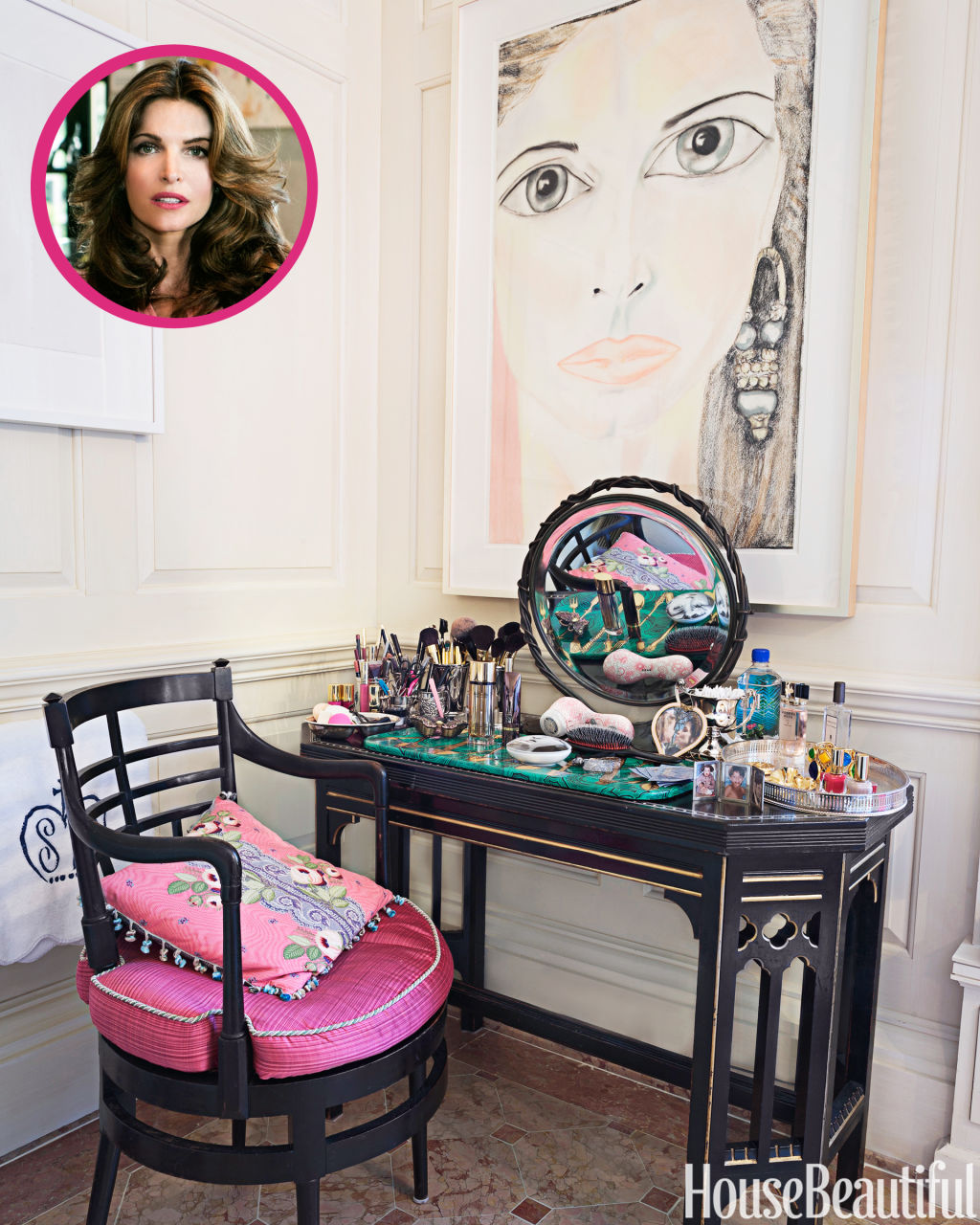The 15 Most Beautiful Kitchens On Pinterest: Stephanie Seymour Beauty Essentials