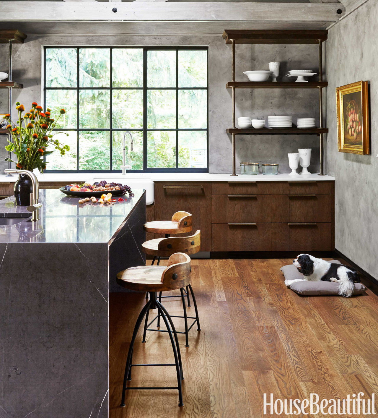 rustic modern kitchen - rustic modern decor