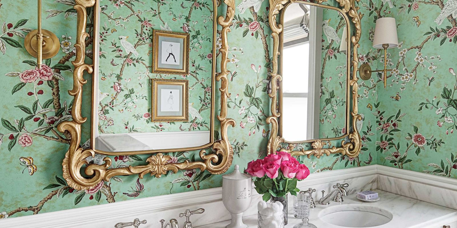 Young Girls Glamorous Bathroom Kids Bathroom Design Ideas