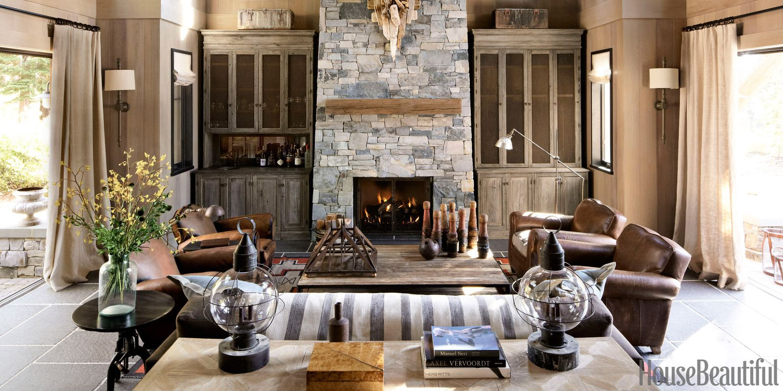 Rustic Mountain House Belgian Farmhouse Style House