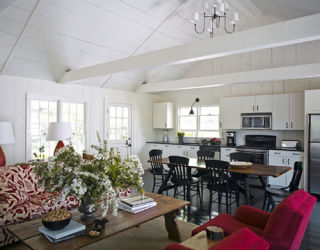 modern colonial farmhouse - pictures of a new york colonial farmhouse