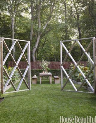 Outdoor dining rooms outdoor entertaining ideas for Elegant vegetable garden