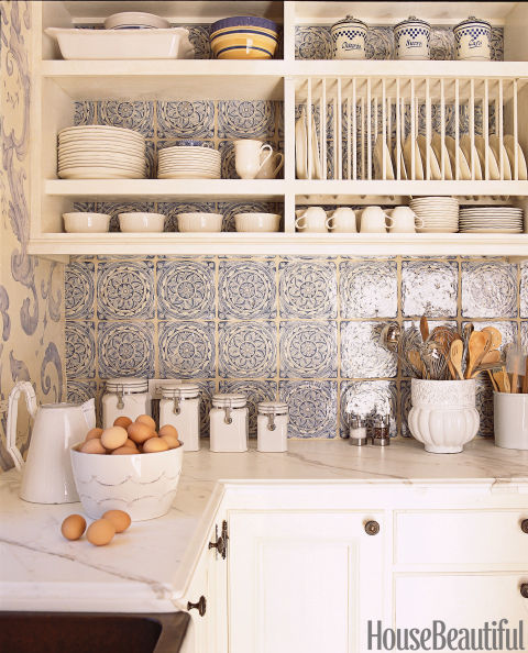 Country Kitchen Tiles Backsplash: Pictures Of Dream Kitchens 2012