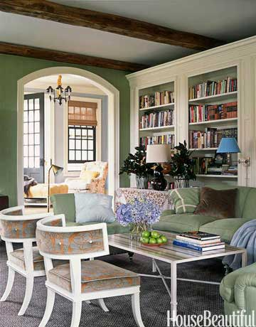 60 family room design ideas decorating tips for family rooms - House Beautiful Living Room Colors