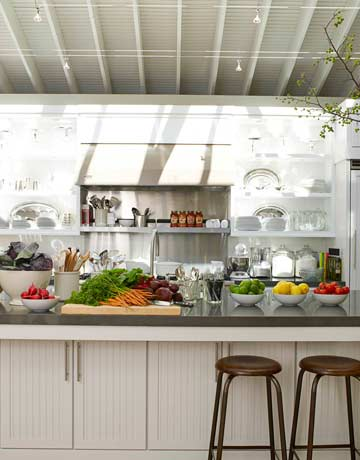 Country kitchen ideas from ina garten for Kosher countertops