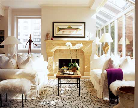 shabby chic style home makeovers manhattan apartment
