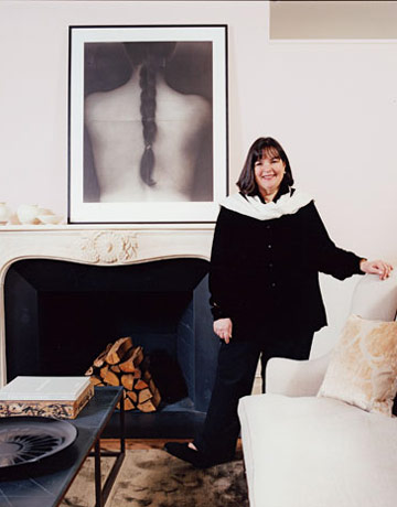Ina Garten In Her City Living Room. Part 93