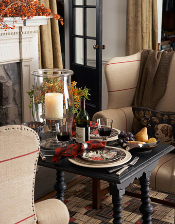Who Says Dinner Has To Be In The Dining Room Or The Kitchen Cozy UpPlace  Setting Ralph Lauren Tabletop