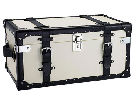 black and white table trunk - Decorative Storage Trunks