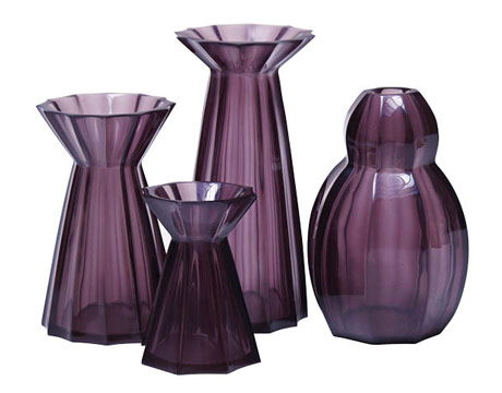 amethyst home accessories - purple decor ideas