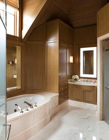 Sophisticated home d cor by orlando diaz azcuy for Bathroom decor orlando