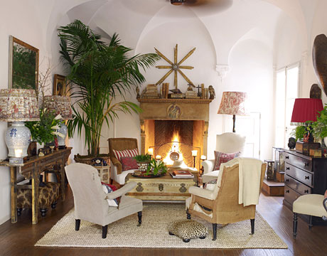 Living Room Furniture Mix And Match decorating rules to break - rules for home decor not to follow