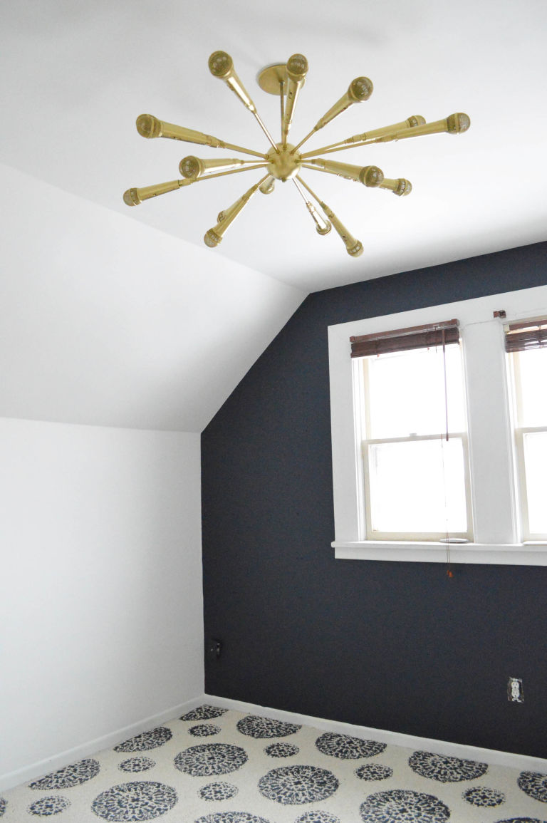diy sputnik chandelier made from microphones microphone sputnik this diy sputnik chandelier made from microphones is the coolest light fixture ever