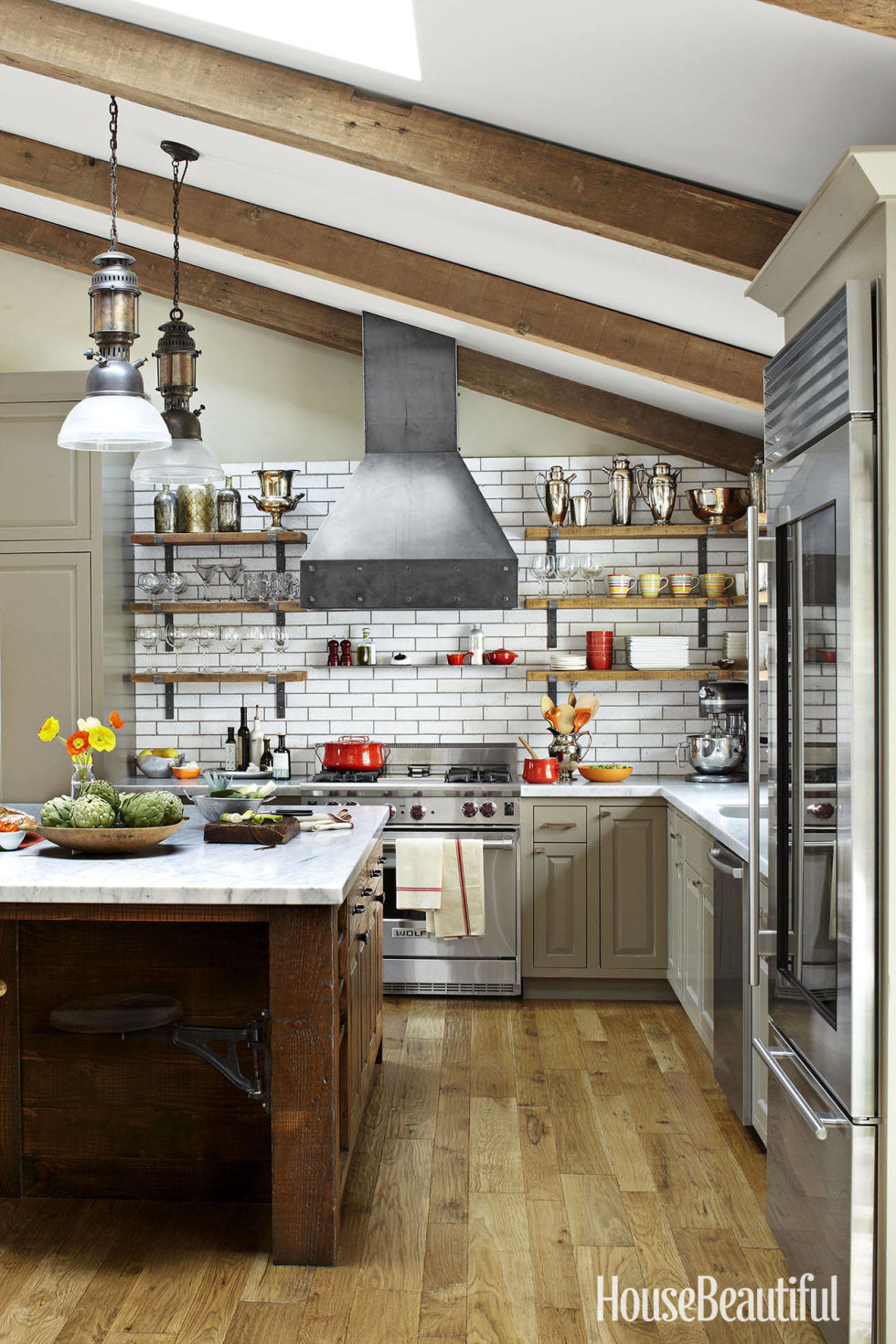 Open Shelf Kitchen Hate Open Shelving These 15 Kitchens Might Convince You Otherwise