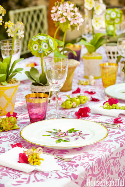 Spring Table Setting Ideas Spring Tablescapes