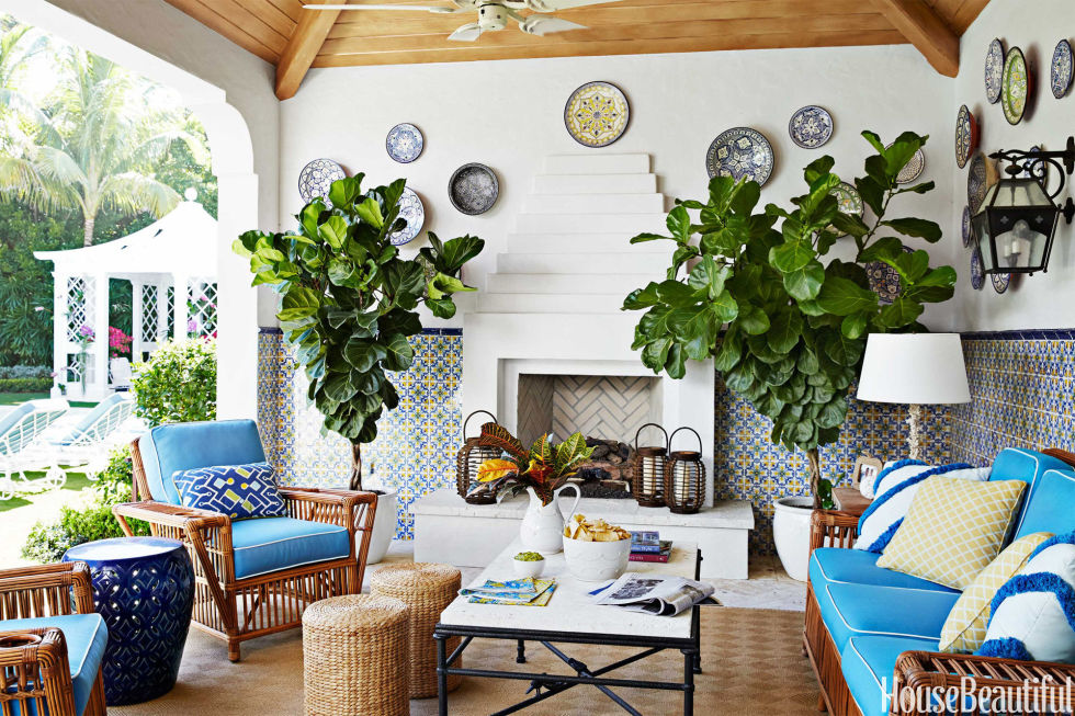Colorful Palm Beach House