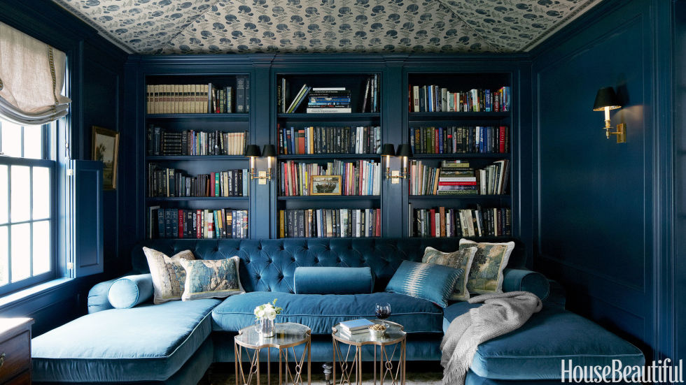 Home Library Design home library design ideas - pictures of home library decor