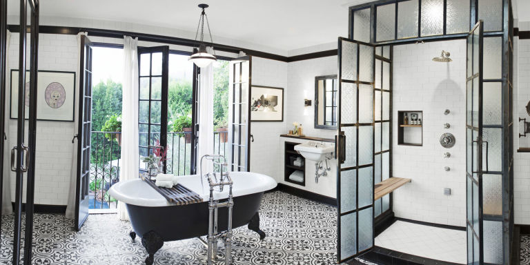 industrial chic bathroom - Home Design