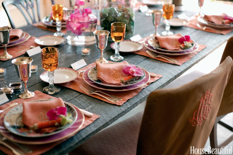 Thanksgiving Tables 14 thanksgiving table decorations - table setting ideas for