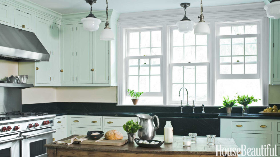 Cabinets Painted 20+ best kitchen paint colors - ideas for popular kitchen colors