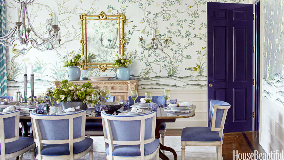 25 best paint colors ideas for choosing home paint color - House Beautiful Dining Rooms