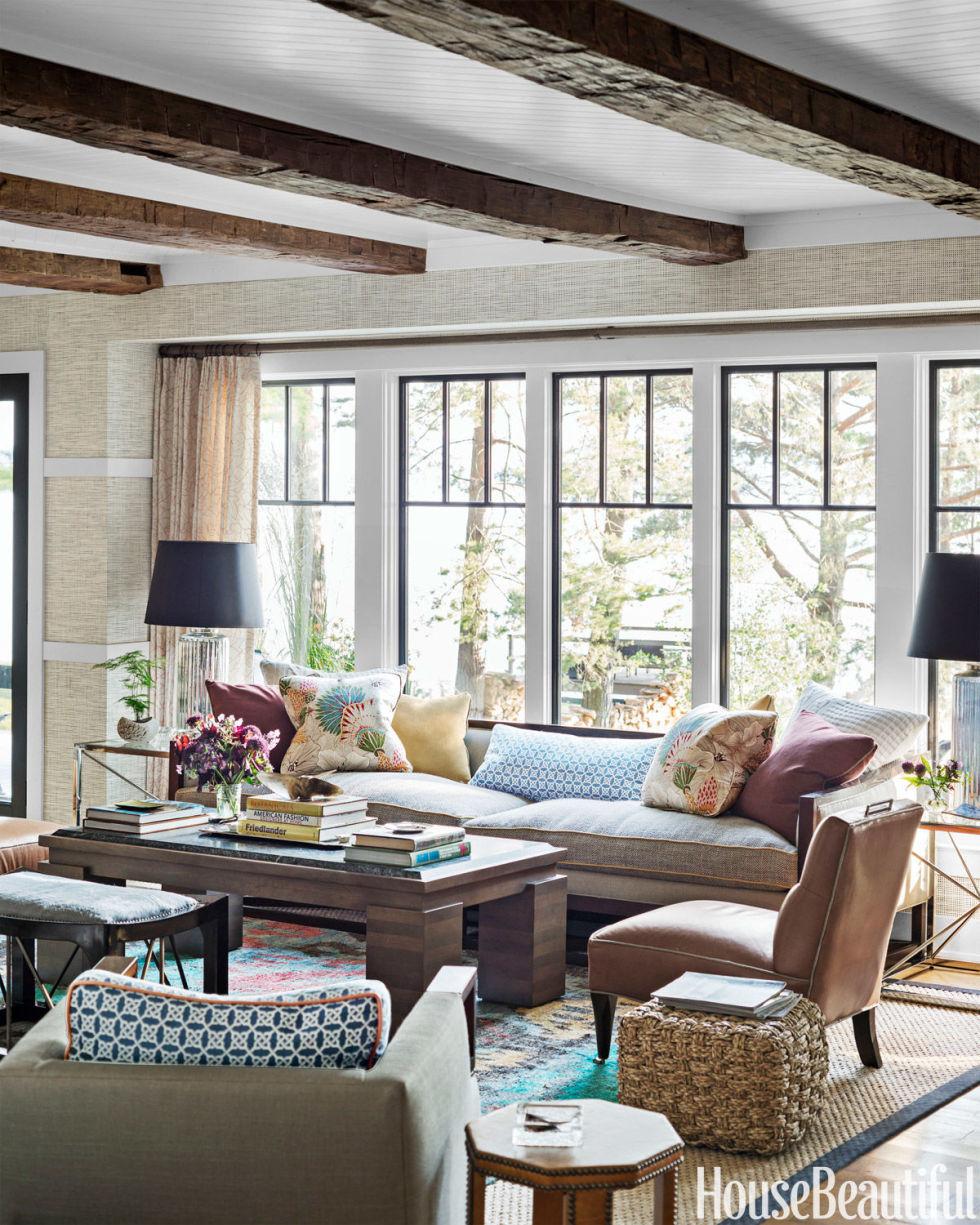 Captivating Thom Filicia Lake House Rustic Decor