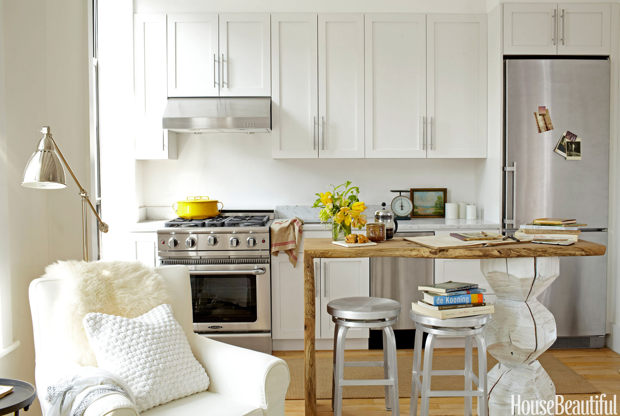 17 Best Small Kitchen Design Ideas - Decorating Solutions ... on Small Kitchen Remodel Ideas  id=65856