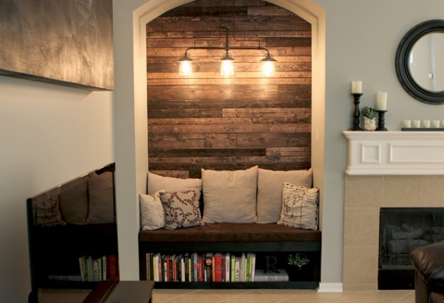 living room alcove ideas tv nook makeover alcove before and after 17074
