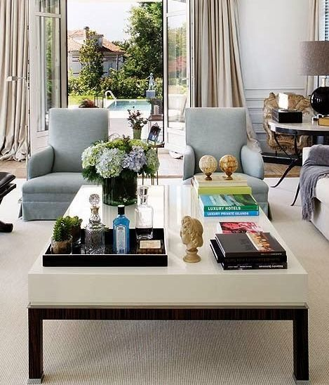 decor for living room table coffee table styling ideas what to put on your coffee table 21579