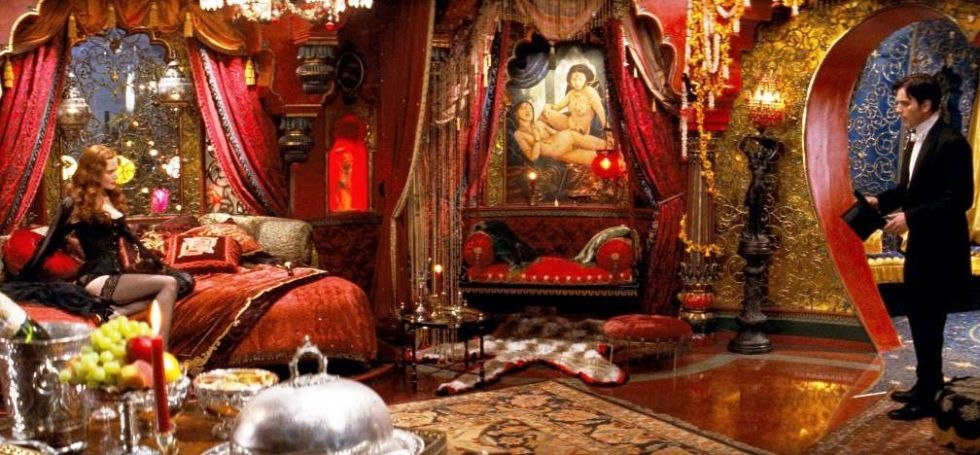 Image result for moulin rouge movie bedroom