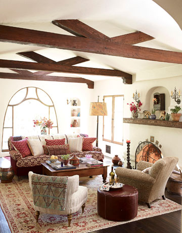 Spanish Inspired Living Room Decor Conceptstructuresllc Com
