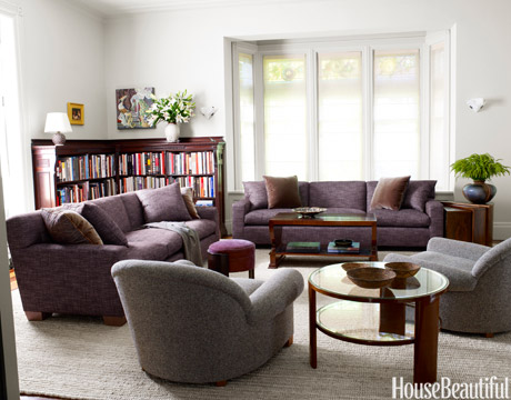 aubergine and grey living room 25 rustic fall color schemes 2016 decorating with autumn 20911