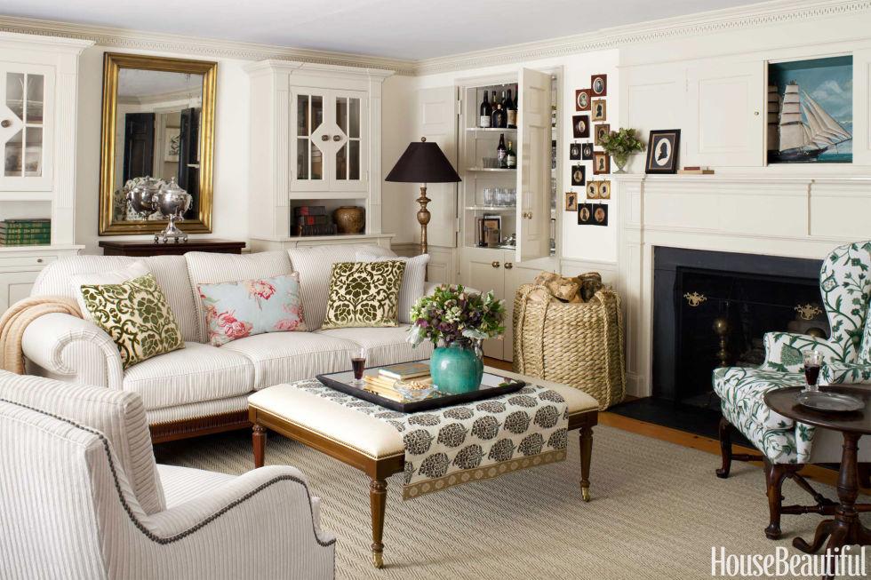 cape cod living room design